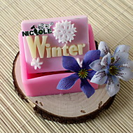 billige Bakeredskap-1pc kjøkken Verktøy Silikon Varmebestandig Bakeform Kake