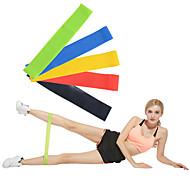 baratos Pilates-Faixas de Exercício / Alças de ioga 5 pcs Ioga / Exercício e Atividade Física Calorias Queimadas / Non Toxic / Elástico Emulsão