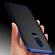 billiga Mobil cases & Skärmskydd-fodral Till OnePlus OnePlus 6 / OnePlus 5T Genomskinlig Skal Enfärgad Mjukt TPU för OnePlus 6 / OnePlus 5T