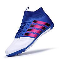 baratos Sapatos Masculinos-Homens Tule / Couro Ecológico Outono Conforto Tênis Corrida / Futebol Estampa Colorida Laranja / Preto / Vermelho / Branco / azul