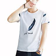 Majica s rukavima Muškarci - Osnovni Dnevno Geometrijski oblici Slovo