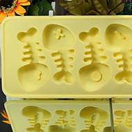 tanie Formy do ciast-Narzędzia do pieczenia żel krzemionkowy Kreatywny gadżet kuchenny Lód / dla owoców / Do naczynia do gotowania Pieczątka i zdrapak 1szt