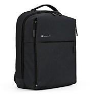 billige Computertasker-Lærred Laptoptaske Lynlås Sort / Mørkeblå / Grå