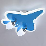 billige Bestelgere-ZHISHU 2-Light Takplafond Omgivelseslys - Mulighet for demping, 110-120V / 220-240V, Dimbar med fjernkontroll, Pære Inkludert / 10-15㎡