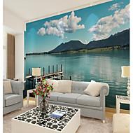 billige Tapet-bakgrunns / Veggmaleri Lerret Tapetsering - selvklebende nødvendig Trykt mønster / Art Deco / 3D