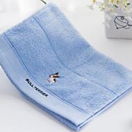 baratos Toalha de Mão-Qualidade superior Toalha de Banho / Toalha de Mão, Sólido / Desenho Animado Poliéster / Algodão 1 pcs