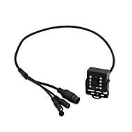tanie Znane marki-HQCAM 1080P 10Pcs 940NM Invisible IR LED AHD 4 IN 1 Camera OSD DIP switch CVI/TVI/AHD And CVBS DVR 1 / 2.7 CMOS IR Camera / Kamera BOX Nie