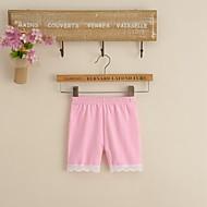 billige Undertøj og sokker til babyer-Baby Pige Basale Ensfarvet Bomuld Undertøj og strømper