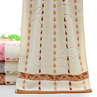 billiga Handdukar och badrockar-Överlägsen kvalitet Tvätt handduk, Prickig / Randig Polyester / Bomull Blandning 1 pcs