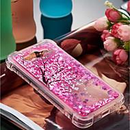 billiga Mobil cases & Skärmskydd-fodral Till Huawei Y6 (2017)(Nova Young) / Y3 (2017) Stötsäker / Flytande vätska / Mönster Skal Blomma Mjukt TPU för Huawei Y7 Prime(Enjoy 7 Plus) / Huawei Y7(Nova Lite+) / Huawei Y6 (2017)(Nova