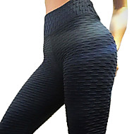 Dame Basale Legging - Ensfarvet Medium Talje