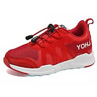 baratos Sapatos de Menino-Para Meninos Sapatos Tule Outono Conforto Tênis Caminhada para Preto / Vermelho