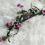 billige Kunstig Blomst-Kunstige blomster 1 Afdeling Rustikt Roser Vægblomst