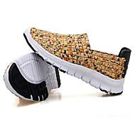 baratos Sapatos de Menino-Para Meninos Sapatos Tecido Verão Conforto Mocassins e Slip-Ons para Laranja / Amarelo / Verde Tropa