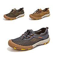 Muškarci Planinarske tenisice Anti-Slip, Quick dry, Podesan za nošenje Prozračan Mesh Camping & planinarenje / Lov / Ribolov Braon / Siva