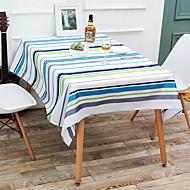 billige Duker-Moderne PVC Kvadrat Duge Stripet / Geometrisk Borddekorasjoner 1 pcs