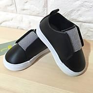 baratos Sapatos de Menino-Para Meninos Sapatos Couro Ecológico Primavera Conforto Tênis Velcro para Preto / Cinzento / Rosa claro