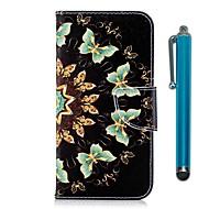 billiga Mobil cases & Skärmskydd-fodral Till Xiaomi Redmi 5 Plus / Redmi 5 Plånbok / Korthållare / med stativ Fodral Fjäril Hårt PU läder för Redmi Note 5A / Xiaomi Redmi