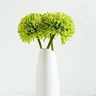 人工花 1 ブランチ シンプルなスタイル / 田園 スタイル アジサイ テーブルトップフラワー