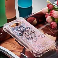 billiga Mobil cases & Skärmskydd-fodral Till Huawei Y6 (2017)(Nova Young) / Y3 (2017) Stötsäker / Flytande vätska / Mönster Skal Ord / fras Mjukt TPU för Huawei Y7 Prime(Enjoy 7 Plus) / Huawei Y7(Nova Lite+) / Huawei Y6 (2017)(Nova