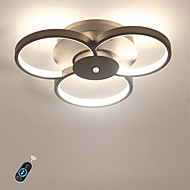 billige Taklamper-Ecolight™ Lineær Takplafond Omgivelseslys Malte Finishes Aluminum Akryl Mulighet for demping, Smuk 110-120V / 220-240V Varm Hvit / Hvit / Dimbar med fjernkontroll Pære Inkludert / Integrert LED / FCC