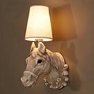 billige Vegglamper-Kul Retro / vintage Vegglamper Stue / Soverom Harpiks Vegglampe 40W