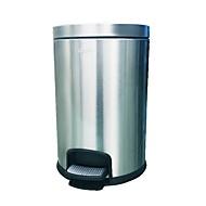 baratos Acessórios de Limpeza de Cozinha-Cozinha Produtos de limpeza Aço Inoxidável Lata de Lixo Simples 1pç