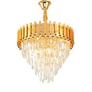 billiga Belysning-QIHengZhaoMing 4-Light Kristall Ljuskronor Glödande 110-120V / 220-240V, Varmt vit, Glödlampa inkluderad / 15-20㎡