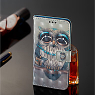 billiga Mobil cases & Skärmskydd-fodral Till Xiaomi Redmi Note 5 Pro / Xiaomi Mi Mix 2S Plånbok / Korthållare / med stativ Fodral Uggla Hårt PU läder för Xiaomi Redmi Note 5 Pro / Xiaomi Mi Mix 2S