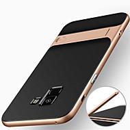hoesje Voor Samsung Galaxy A8 Plus 2018 / A8 2018 Schokbestendig / met standaard Achterkant Schild Hard PC voor A8 2018 / A8+ 2018