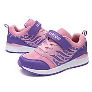 baratos Sapatos de Menino-Para Meninos Sapatos Com Transparência Primavera Verão Conforto Tênis Caminhada para Roxo / Fúcsia / Rosa claro