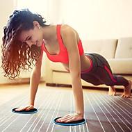 baratos Equipamentos & Acessórios Fitness-Discos de Deslizamento Com 2 pcs Resina ABS / EVA Calorias Queimadas Emagrecimento Para Exercício e Atividade Física