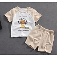 Dijete Djevojčice Print Kratkih rukava Komplet odjeće