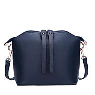 baratos Bolsas de Ombro-o couro do zipper da mala a tiracolo do couro do nappa dos sacos das mulheres / vermelho / preto