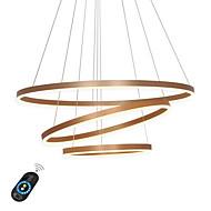 billiga Belysning-Ecolight™ Geometriskt Ljuskronor Glödande - Justerbar, Bimbar, 110-120V / 220-240V, Varmt vit / Vit / Dimbar med fjärrkontroll,  / 15-20㎡