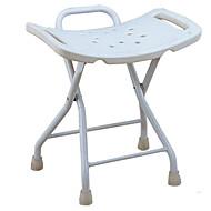 رخيصةأون -كرسي حمام قابل للطي / مضاد للانزلاق / تصميم جديد معاصر / العادي المعدنية / بلاستيك 1PC ديكور الحمام