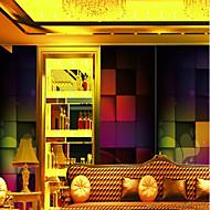 billige Tapet-Veggmaleri Lerret Tapetsering - selvklebende nødvendig Art Deco / Mønster / 3D