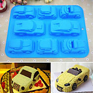 tanie Formy do ciast-Narzędzia do pieczenia Silikonowy Kreskówka 3D / majsterkowanie Tort / Ciasteczka / Czekoladowy Formy Ciasta / Formy do Ciastek / Deserowe Narzędzia 1szt