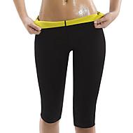 baratos Equipamentos & Acessórios Fitness-Calças Modeladoras Com Neoprene Elástico Perda de peso, Queimador de gordura, Abdômen Definido Para Ioga / Exercício e Atividade Física / Exercite-se Homens / Mulheres Treino
