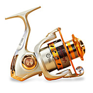 cheap Fishing-Fishing Reel Spinning Reel 5.5/1 Gear Ratio+12 Ball Bearings Hand Orientation Exchangable Sea Fishing / Carp Fishing