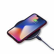 preiswerte -Kabelloses Ladegerät USB-Ladegerät Universal Kabelloses Ladegerät 1 USB Anschluss 1 A / 1.5 A DC 9V / DC 5V für iPhone X / iPhone 8 Plus / iPhone 8