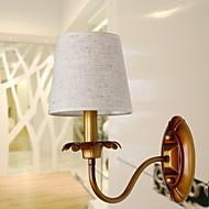 baratos Arandelas de Parede-Criativo Moderno / Contemporâneo Luminárias de parede Metal Luz de parede 220-240V 25 W