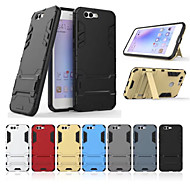 billiga Mobil cases & Skärmskydd-fodral Till Huawei Honor View 10(Honor V10) med stativ Skal Enfärgad Hårt PC för Huawei Honor View 10