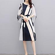מידי דפוס שמלה נדן רזה סגנון רחוב מתוחכם בגדי ריקוד נשים