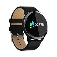 tanie Inteligentne zegarki-Inteligentne Bransoletka Q8 na Pulsometr / Wodoodporne / Pomiar ciśnienia krwi / Spalone kalorie / Długi czas czuwania Krokomierz / Powiadamianie o połączeniu telefonicznym / Rejestrator snu / Budzik