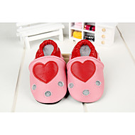 baratos Sapatos de Menino-Para Meninos Sapatos Pele Primavera Verão Conforto Mocassins e Slip-Ons para Prata / Vermelho / Rosa claro
