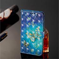 billiga Mobil cases & Skärmskydd-fodral Till Xiaomi Redmi Note 5 Pro / Xiaomi Mi Mix 2S Plånbok / Korthållare / med stativ Fodral Fjäril Hårt PU läder för Xiaomi Redmi Note 5 Pro / Xiaomi Mi Mix 2S