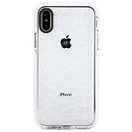 billiga Mobil cases & Skärmskydd-fodral Till Apple iPhone X / iPhone 8 Ultratunt Skal Färggradient Mjukt TPU för iPhone X / iPhone 8 Plus / iPhone 8