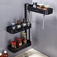 billiga Köksförvaring-Kök Organisation Ställ & Hållare Rostfritt stål Lätt att använda 1st