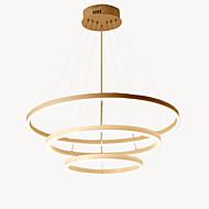 abordables Luces-Oulm 3-luz Circular Lámparas Araña Luz Ambiente - Nuevo diseño, Creativo, 110-120V / 220-240V, Blanco Cálido / Regulable con control remoto, Fuente de luz LED incluida